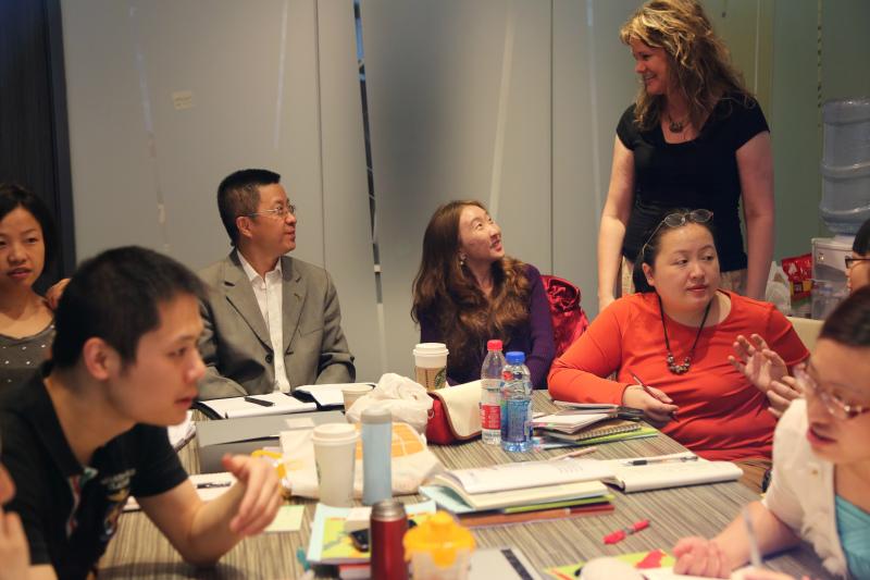 四川省教育厅教育国际交流协会一行到访美国TESOL四川认证中心 - TESOL中国总部 - 美国TESOL中国总部官方博客