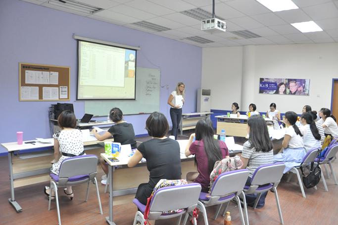 成都七中英语教师参加TESOL国际高级英语教师资格认证培训班